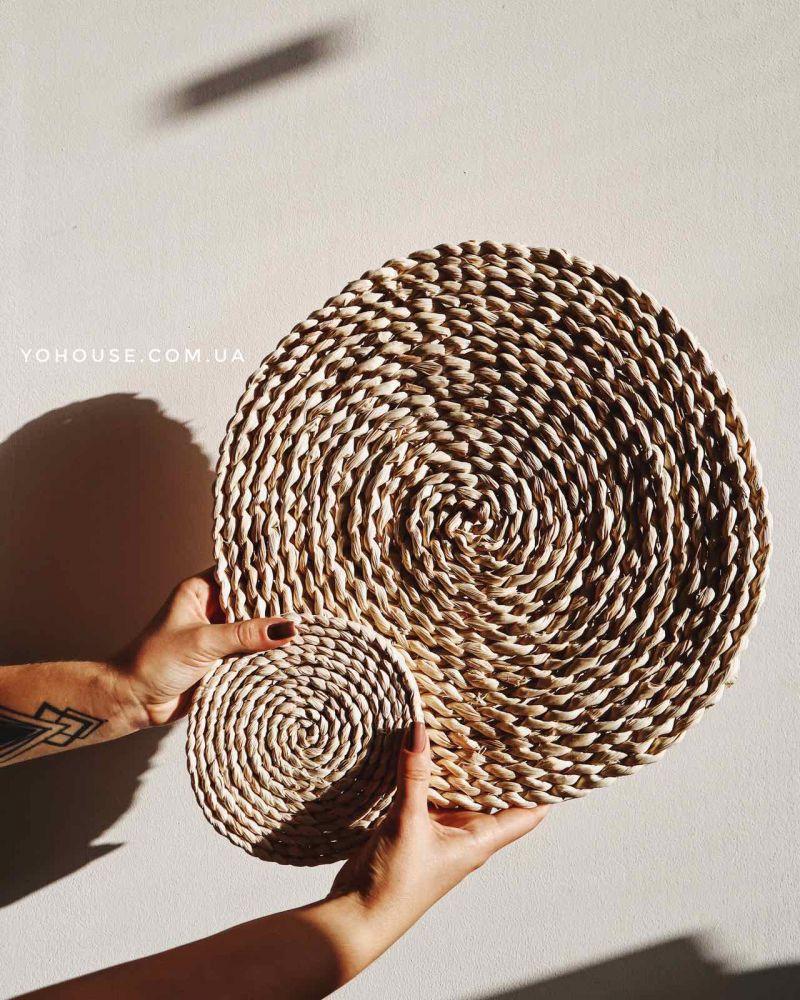 Плетена підкладка 35 см