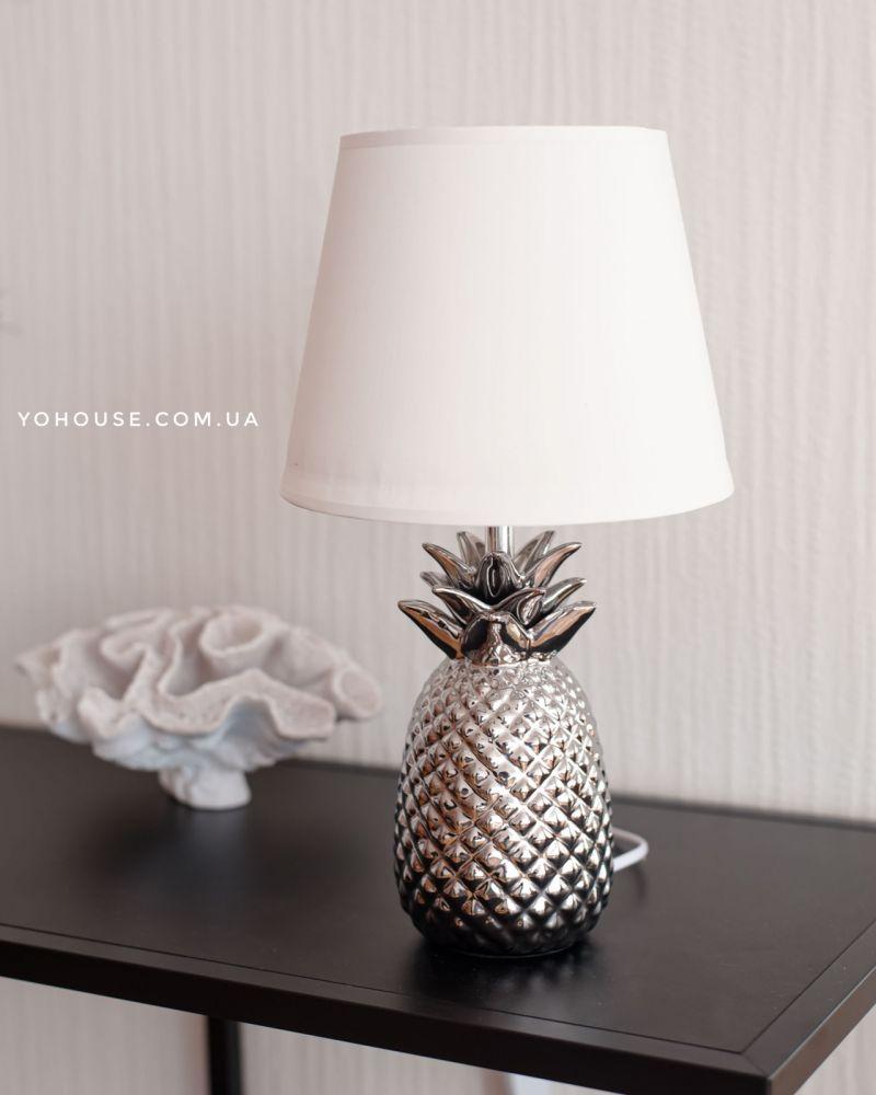Лампа Настільна Ананас Silver