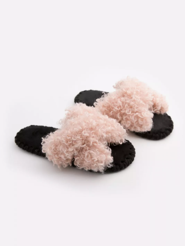 Домашні тапочки Sheep (розмір 36/37, колір рожевий , відкриті )